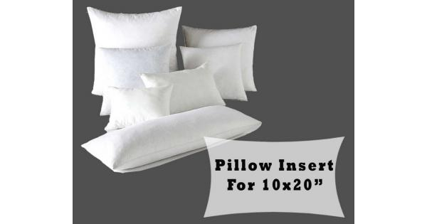Fiber Fill Lumbar Pillow Forms 40x40 Cushion Cover Polyester Amazing 10 X 20 Pillow Insert