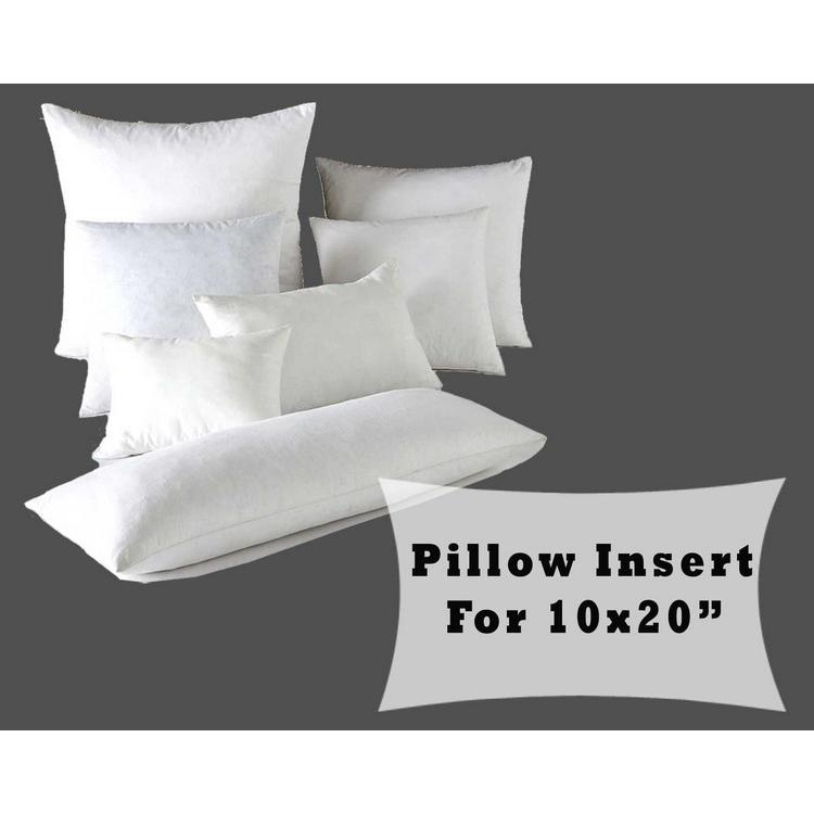 Fiber Fill Lumbar Pillow Forms 40x40 Cushion Cover Polyester Awesome 10 X 20 Pillow Insert