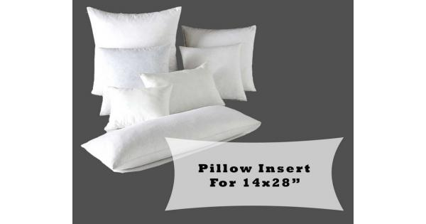 Large Lumbar Pillow Fiber Fill Form Inserts For 40x40quot Delectable Long Lumbar Pillow Insert