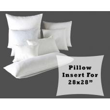 "Large Pillow Form Fiber Fill Insert Stuffing for 28x28"" Cushion Cover"