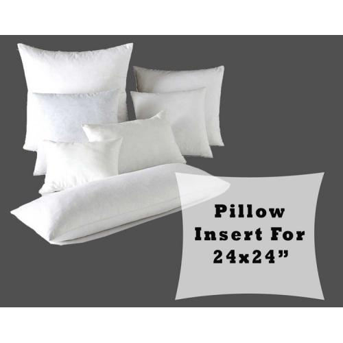 "Pillow Form Fiber Fill Large Insert Stuffing for 24x24"" Cushion Covers"