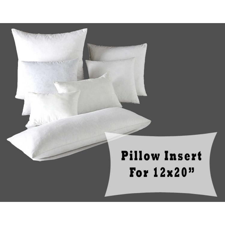 Polyester Fiber Fill Pillow Insert Cushion Forms 12x20