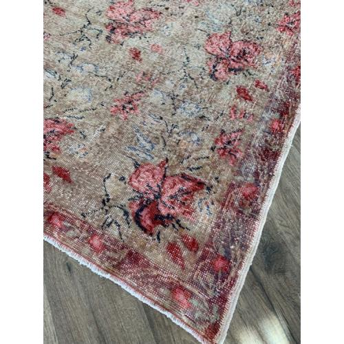 "5' x 7'10"" Distressed Vintage Handmade Turkish Rug Boho Decor"