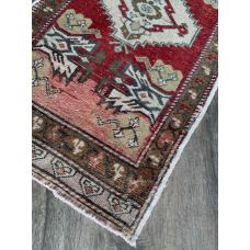 2 by 3 Little Rug Handmade Oushak Area Interior Kids room Interior