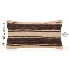 Modern Decorative Kilim Pillow Cover Striped Sofa Couch Throw Cushion