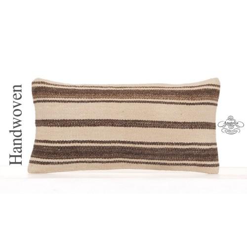 "Modern Home Decoration Cushion 10x20"" Striped Kilim Retro Sofa Pillow"
