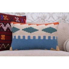 "Retro Old Kilim Pillowcase 12x20"" Ethnic Sofa Couch Decor Outdoor Pillow"