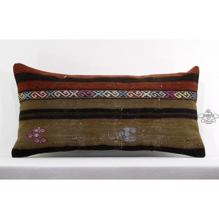 Kilim pillowVintage Turkish kilim Pillowcase lumbar pillow