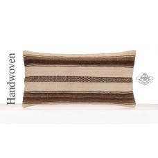 "Modern Home Decor Accent Lumbar Pillowcase 12x24"" Kilim Throw Pillow"