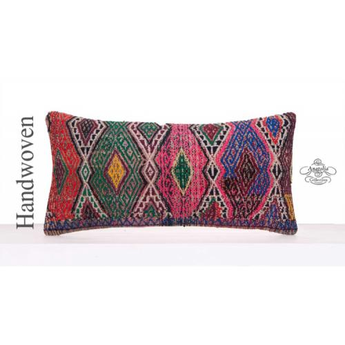 Boho Style Colorful Pillowcase Handmade Kilim Pillow Retro Decor Throw