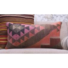 Eastern Lumbar Kilim Pillow Retro Home Decor Throw Turkish Rug Cushion