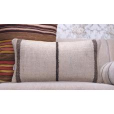 Modern Decoration Accent Lumbar Kilim Pillow 12x24 Handmade Rug Cushion