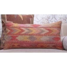 Colorful Ethnic Kilim Pillowcase Vintage Lumbar Sofa Decor Throw Pillow