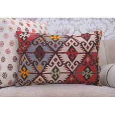 "Oriental Large Cushion 16x24"" Geometric Interior Decoration Sofa Pillow"