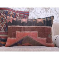 "Southwestern Rug Cushion 16x24"" Interior Sofa Throw Kilim Pillow Cover"