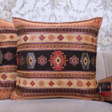 Decorative Turkish Kilim Pillow Square Rug Pattern Cushion Sofa Throw