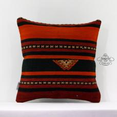 Ethnic Kilim Pillow Sham Turkish Vintage Decor Accent Rustic Designer Cushion 16