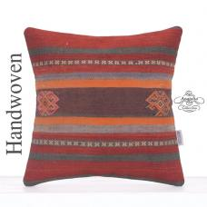 "Vintage Decorative 16"" Kilim Cushion Embroidered Retro Sofa Bed Throw"