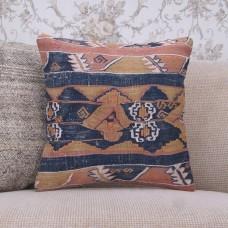 "Oriental Rug Cushion 16x16"" Antique Square Interior Decor Throw Pillow"