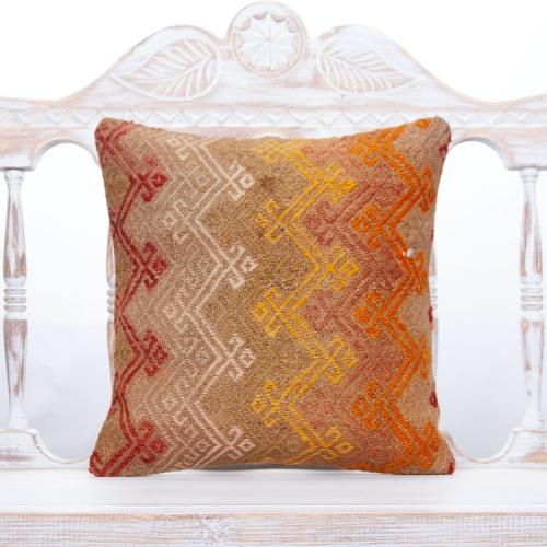 Pastel Decorative Cushion Embroidered Vintage Home Decor Throw Pillow