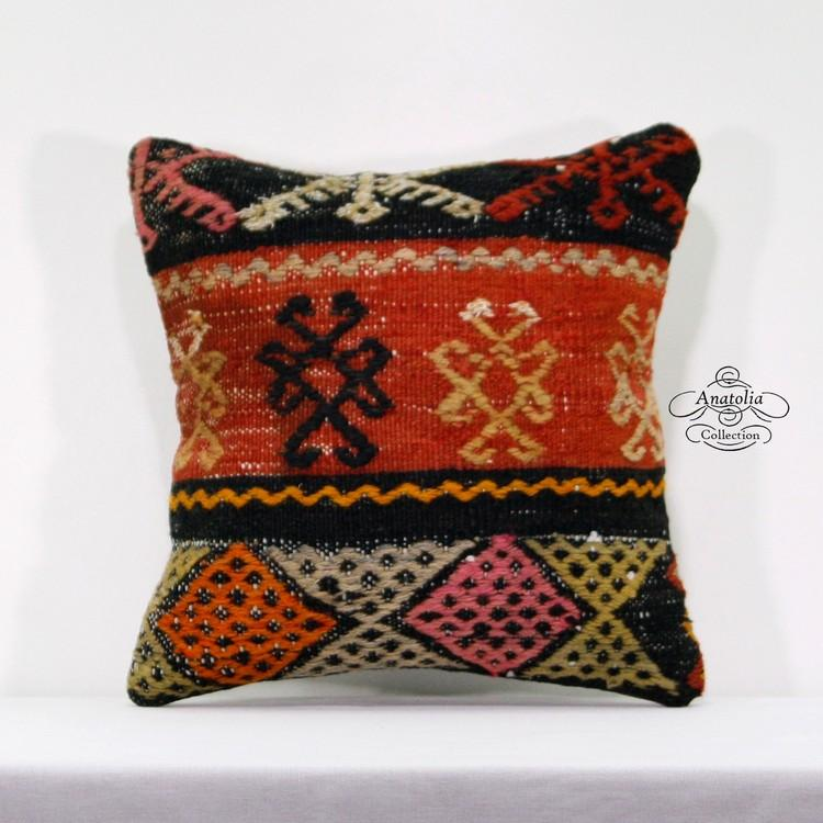 Ottoman Decorative Throw Pillows Embroidered Kilim Rug Designer Impressive Designer Decorative Throw Pillows