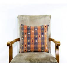Sale! Embroidered Kilim Rug Pillow Cover 16x16 Outdoor Sofa Couch Bench Cushion