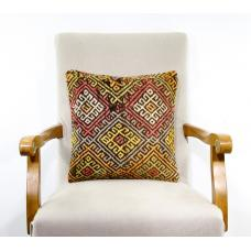 Sale! Full Embroidered Pillow Vintage Decoration Accent Oriental Cushion Cover