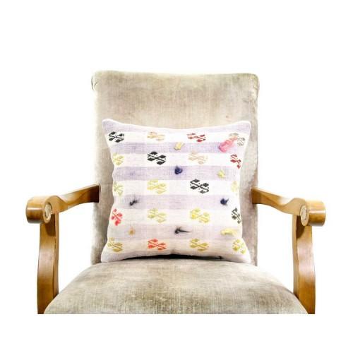Sale! Shabby Chic Kilim Rug Pillow Cover Handmade Designer Decor Accent Cushion