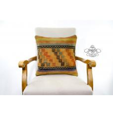 Decorative Aztec Kilim Pillow Vintage Interior Design Decor Accent Cushion Cover