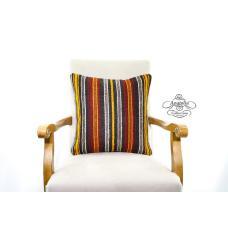 Vintage Striped Decor Sham Turkish Kilim Pillow Boho Decor Accent Kelim Cushion