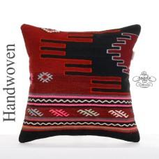 Anatolian Pillow Case Interior Decor Accent Large 20x20 Kilim Cushion